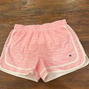 NWOT girls champion candy pink shorts